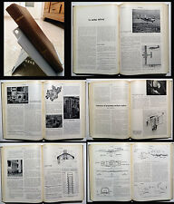 L'INGEGNERE Rivista 6 NUM 1957 _ FIAT AVIAZIONE _ SANREMO _STAB. OLIVETTI _POMPE
