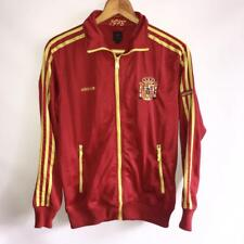 VERY RARE ADIDAS ORIGINALS SPAIN NATIONAL FOOTBALL TEAM JACKET FULL ZIP / SIZE M