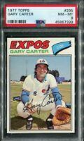 1977 Topps #295 Gary Carter PSA 8 NM-MT