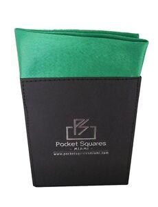 Pocket Square...Crepe Satin...Pre Folded