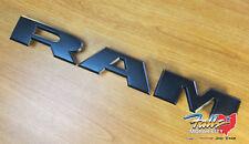 2019 Dodge Ram 1500 DT Matte Black Ram Grille Letters Nameplate Emblem Mopar OEM
