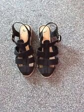 River Island Black Sandals