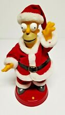 "The Simpsons 13"" Talking Singing & Dancing Homer Santa 2002 Gemmy Christmas"