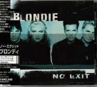 Blondie No Exit JAPAN CD with OBI 1 Bonus Track BVCP21037