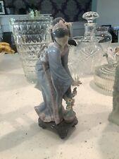 "Lladro Figurine ""Japanese Traditional Girl"" #1449 with Original Box"
