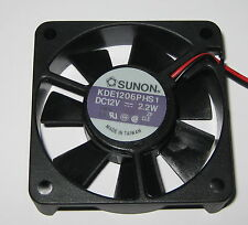 Sunon 60 mm High Speed Cooling KDE Fan - 12 V - 18 CFM - 31 dB - KDE1206 - 12VDC