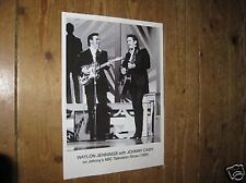 Johnny Cash and Waylon Jennings POSTER