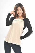US Brand Anti Radiation Maternity Clothes Belly Tee Baby Protection Shielding