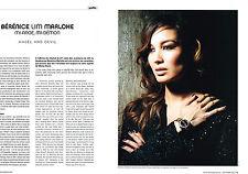 Publicité advertising  2012   BERENICE LIM MARLOHE   (2 pages)