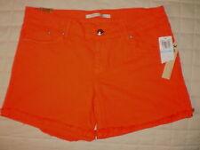 Dylan George Papaya Cuffed Cut Off Denim Jean Shorts Womens Size 31 New $98