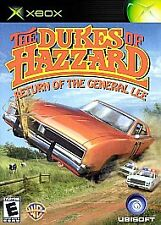 The Dukes of Hazzard Return of the General Lee XBOX Complete Very Good