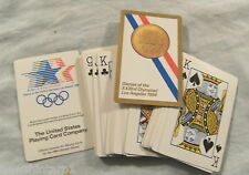 PLAYING CARDS - 1984 LOS ANGELES OLYMPIC GAMES