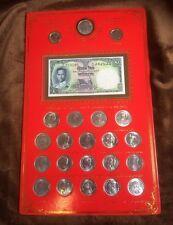 COLLECTIBLES 22 RARE THAI BAHT COINS SET KING RAMA  IX 1957-2012 COLLECTION