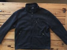 Mens Nike ACG Therma-Fit Thermal  Black Full Zip Jacket Men's SZ Large Polyester