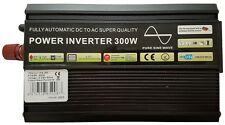 300W/600W (Peak) Pure Sine Wave Power Inverter Soft Start 12V DC to AC Inverter