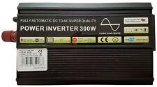 300W/600W (picco) ONDA SINUSOIDALE PURA POTENZA INVERTER SOFT START 12V DC a AC INVERTER