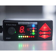 RARE COLOR LED Valentine One Concealed Display!!  Multi-Color Radar & Strength