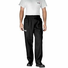 Chefwear 3700-30 4-Star Ultimate Chef Pant, Black XS-5XL New!