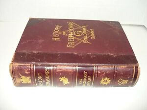 HISTORY OF FREEMASONRY AND CONCORDANT ORDERS,1895 LEATHER OCCULT