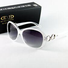 New White Sunglasses Women Polarized Sun Glasses Eyewear Frame UV Lens 2115