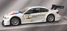 BMW M3 DTM M Performance BMW Motorsport die-cast model 1:43 with opening doors