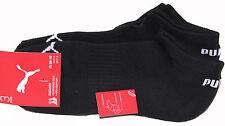 New Puma Socks UNISEX SNEAKER CUSHIONED 3 PEAR PACK Men's Size EU 39-42