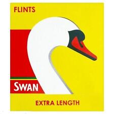 SWAN EXTRA LONG LIGHTER FLINTS 12 PACKETS OF 9 !! FREE DELIVERY!!