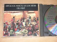 CD / ANTHOLOGIE MUSICALE DES ANDES DU PEROU / BON ETAT