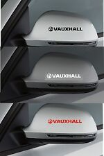 Para Opel - 2 X Ala Espejo Coche Decal Sticker Adhesivo-Astra - 100mm de largo