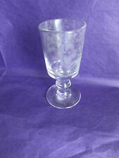 Verre calice ancien fin XVIIIe old glass 18th century 11 cm