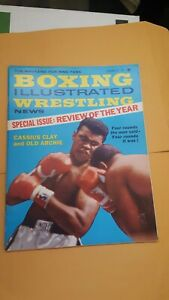 Boxing Illustrated + Wrestling News. Feb.1963. Cassius Clay. Archie Moore. Ali.