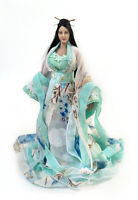 """1:6 Chinese Hanfu Ancient Outfit Skirt Dress Clothes Props For 12"""" Figure Body"""