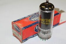 6CL6 RAYTHEON VINTAGE TUBE WITH BLACK PLATES -  NOS IN BOX