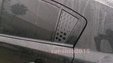 Side Window Deflector Louvers Vent Cover for MAZDA 3 10-14 Unpainted Pattern