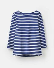 Joules 204218 Jersey Striped Top - JET BLUE