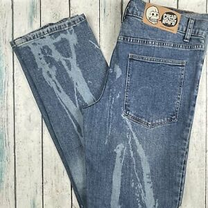 Cheap Monday 'Tight Splash' Jeans - Size 36/34