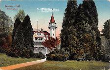 Lauban Schlesien Steinberghaus Postkarte gel. 1917