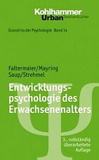 Entwicklungspsychologie des Erwachsenenalters Toni  Mayring Faltermaier