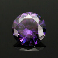 15MM 17.66Ct AAAAA Natural Purple Round Amethyst Gem Diamonds Cut VVS Loose Gems