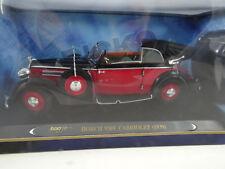 1:18 RICKO - Horch 930V cabriolet Red / Noir - RARE §