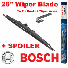 """Bosch 26"""" Inch Super Plus Universal SPOILER Wiper Blade SP26S For Hooked Wiper A"""
