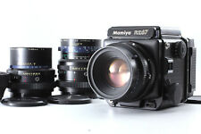 【Exc+++++】 Mamiya RZ 67 Pro with Sekor Z 110mm 65mm 140mm 3 Lenses from Japan