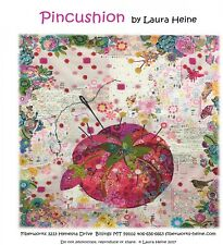 Pin Cushion Collage Quilt Pattern By Laura Heine of Fiberworks