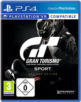 PS4 Gran Turismo Sport 7 GT Sport Day One Edition PSVR NEU&OVP PlayStation 4
