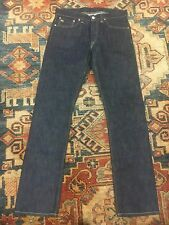rrl double rl polo RRL slim fit jeans selvedge once wash japan woven Sz 30/32