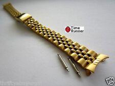 13 mm Woman's Jubilee Gold Tone Watch Band Bracelet