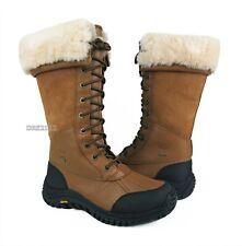 UGG Australia Adirondack Tall Otter Leather Fur Boots Womens Size 8 *NIB*