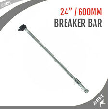 """1/2"""" 600mm 24"""" Breaker Bar Socket Drive Wrench Spanner CRV Steel Chrome Vanadium"""