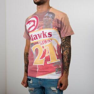 Mitchell & Ness NBA Atlanta Hawks Dominique Wilkins Tee BMTRKT18007-AHARED1DWI