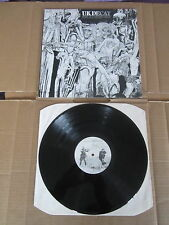 UK DECAY For Madmen Only LP RARE ORIGINAL 1981 UK 1ST PRESSING FRESHLP5